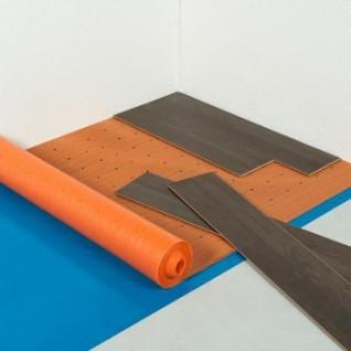 Ondervloer Isotherm rol 1 x 10 mtr, dikte 2,0 mm  (geschikt voor vloerverwarming)