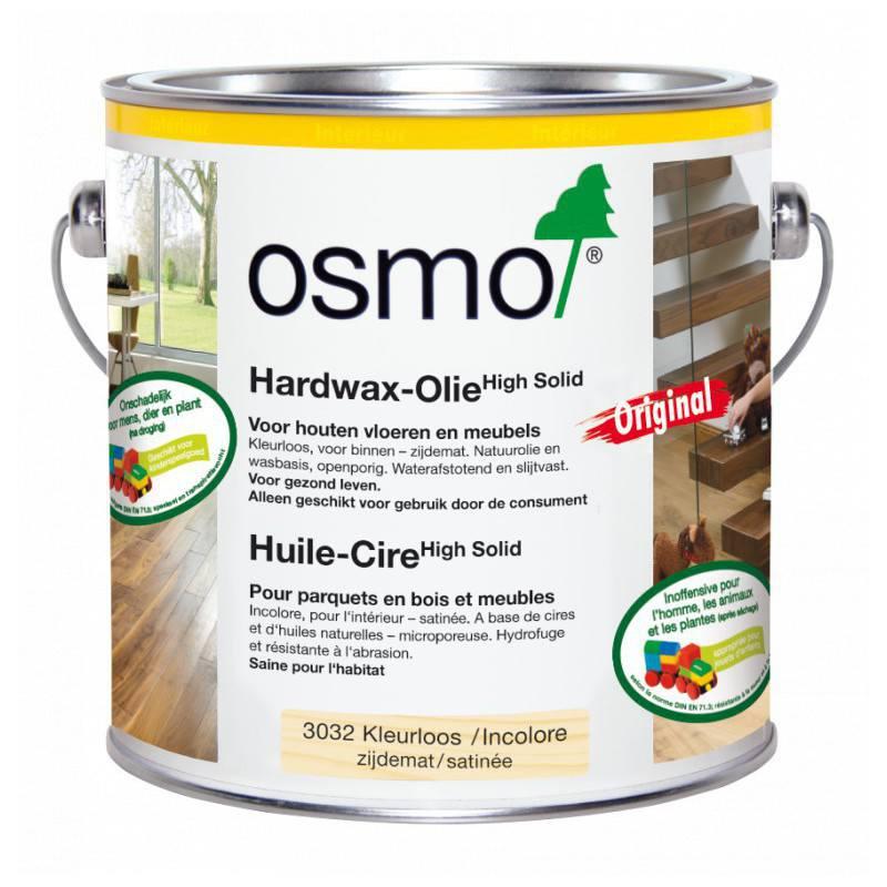 Osmo Hardwax olie Zijdeglans 3032, 2,5 Liter
