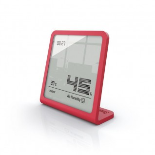 Hygrometer Selina Digitaal Chili Red