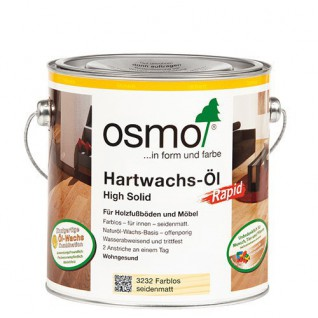 Osmo Hardwax olie Mat Polyx Rapid 3262, 2,5 Liter