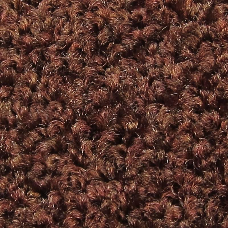 VOS deurmat Porte roest bruin 100 cm breed