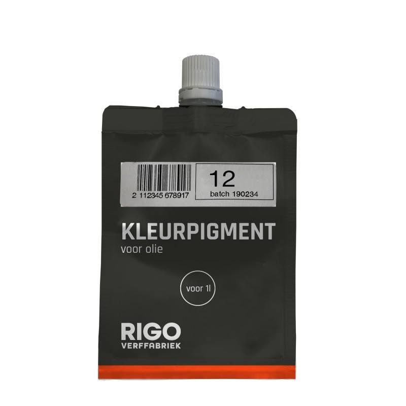 Royl Kleurpigment Olie 12 Dark Oak voor 1L 0112