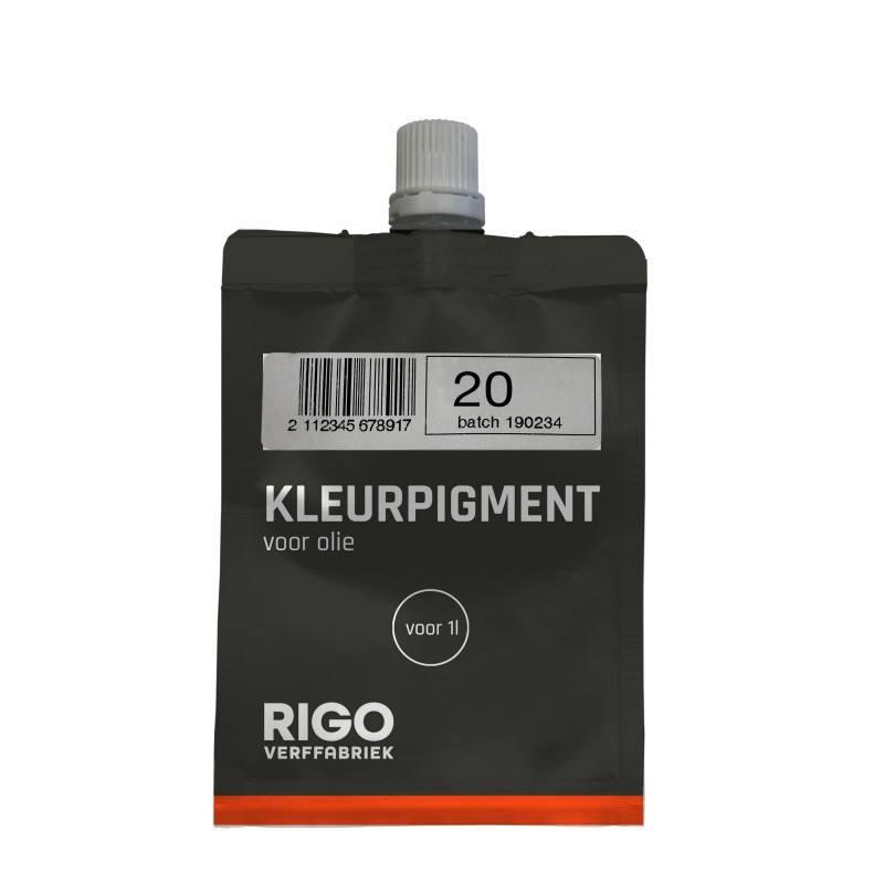 Royl Kleurpigment Olie 20 Black Forest voor 1L 0120