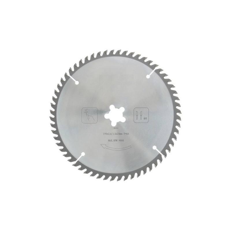 Zaagblad PROF 190 x 20 mm T60 (hout)