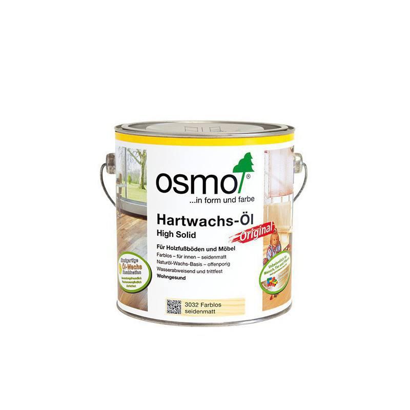 Osmo Hardwax olie Mat 3062, 2,5 Liter