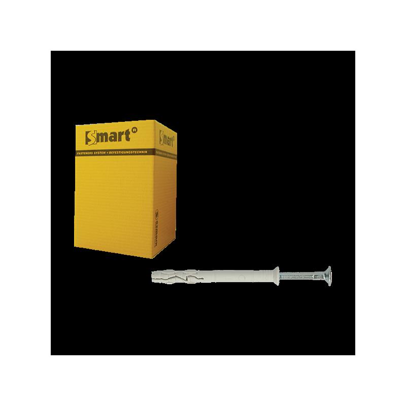 Nagel-/slagplug Ø8x60 VK boord gemonteerd - 100 stuks