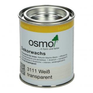 Osmo Decorwas Wit 3111, 0,125 Liter