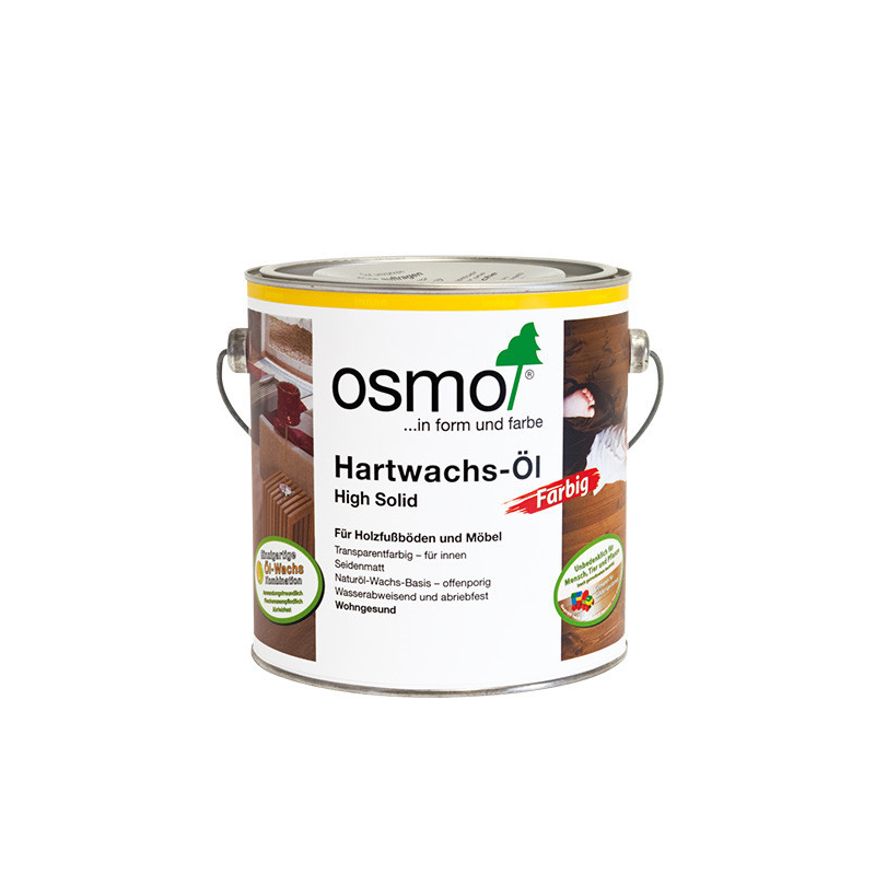 OSMO Hardwax Olie 3040 Wit 2,5L