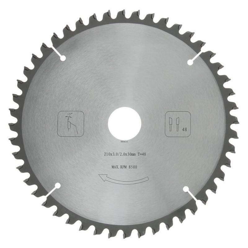 Afkortzaagblad PROF 210 x 30 mm T48