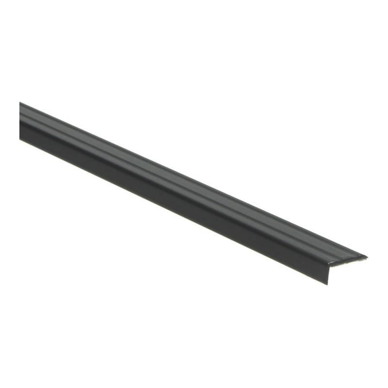 Hoeklijnprofiel 10mm zelfklevend zwart 3m