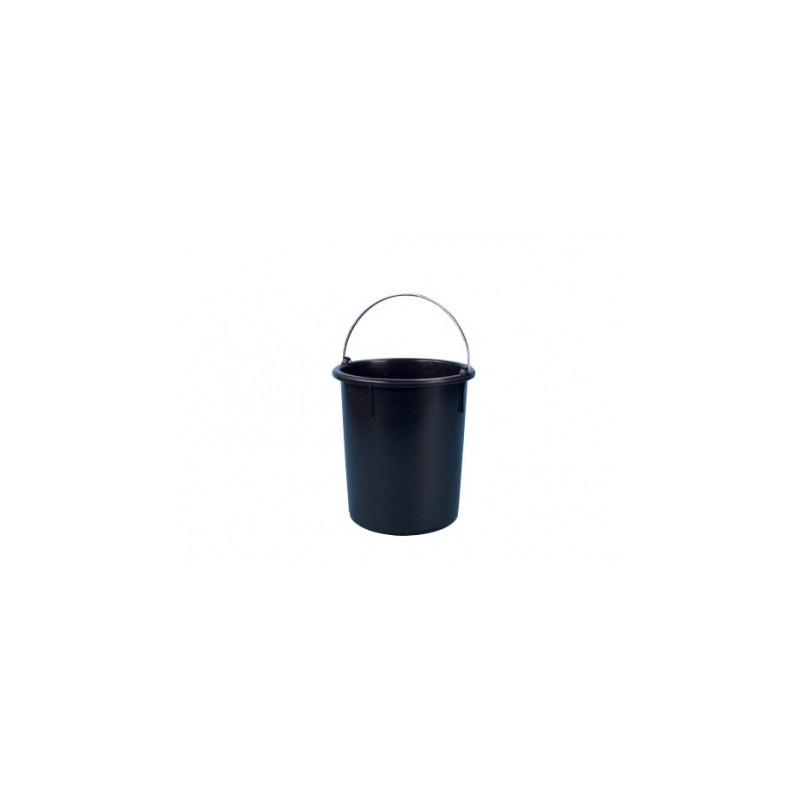Mengemmer zwart met beugel (HDPE) 30 Liter