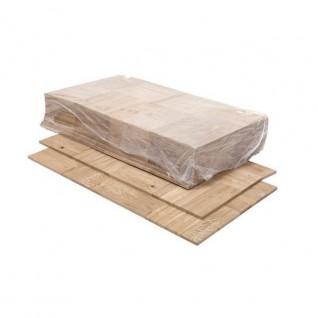 Eiken Mozaïek Rustiek 8*160*160 mm op mat, onbehandeld (4.1 m2 per doos)