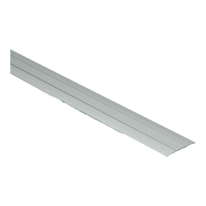 Dilatatieprofiel zelfklevend 37 mm alu zilver, 300 cm lang