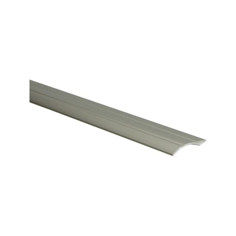 Overgangsprofiel zelfklevend 0-20 mm zilver, 300 cm lang
