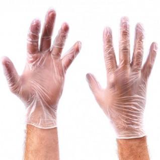 Poedervrije Vinyl Handschoenen Transparant maat XL 100 stuks