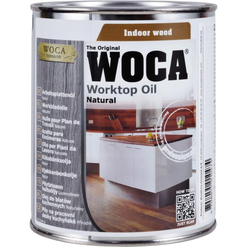 WOCA Werkbladenolie wit 0,75 L
