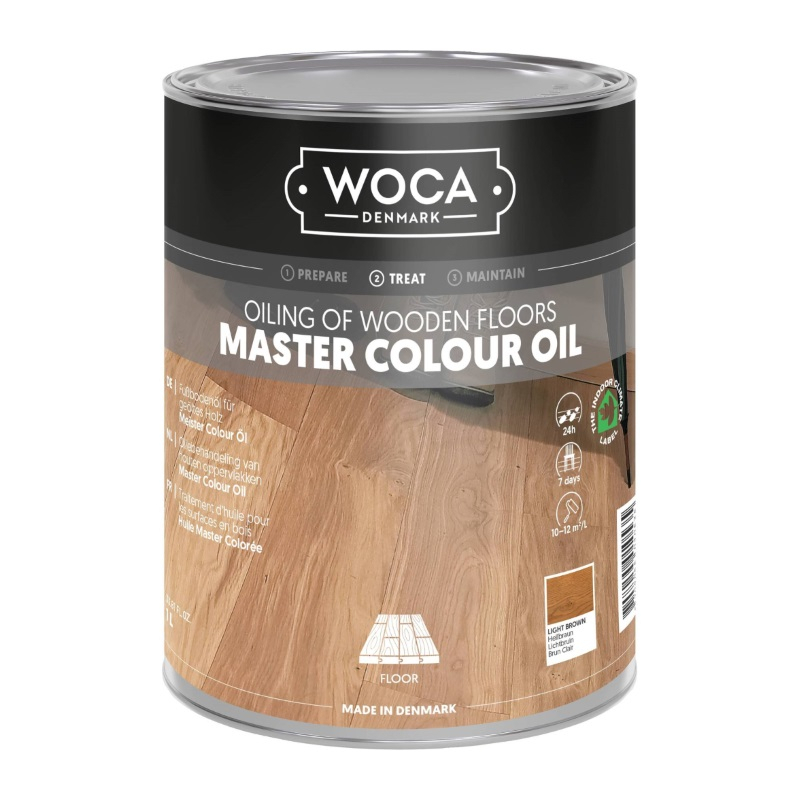WOCA Master Colour Oil 101 light brown 1 L