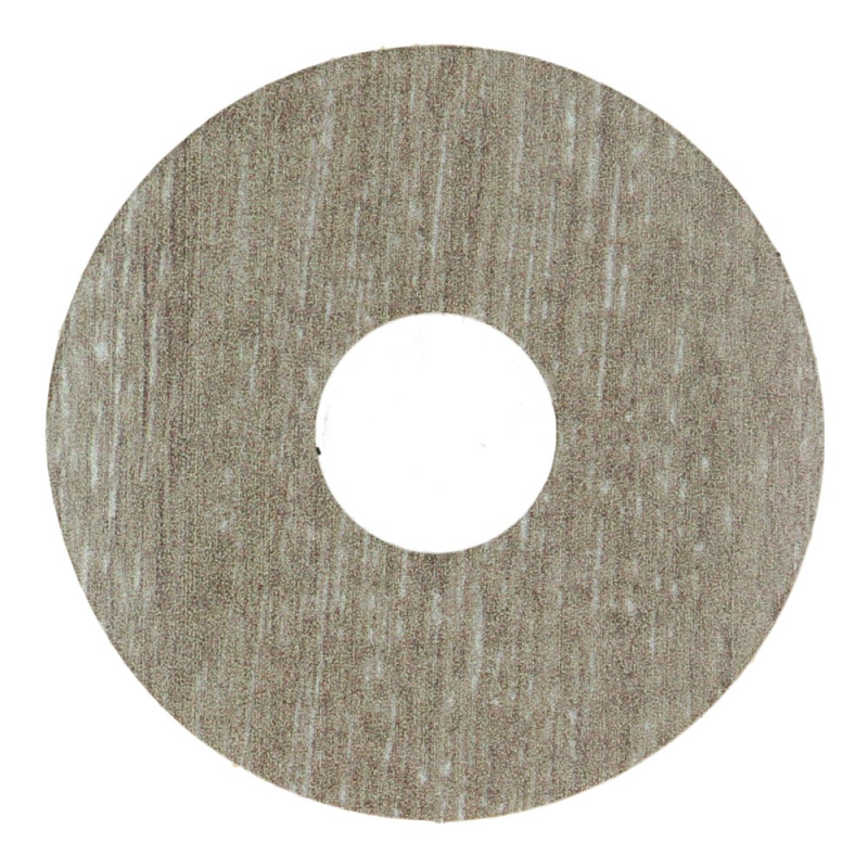 Zelfkl. rozet (17 mm) bosland eik bruin (10 st.)